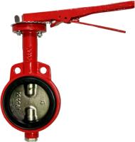 Затворы дисковые с ручным приводом, DN 80 PN10