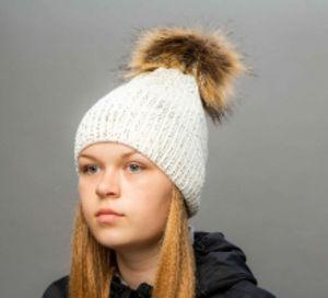 Женские и молодежные головные уборы с помпоном от ТМ Selfiework