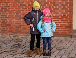 Детские демисезонные куртки, пальто, парки