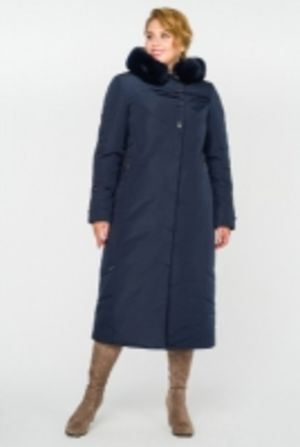 Зимние стеганые пальто больших размеров
