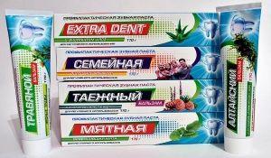 Зубная паста Мятная Семейная Фтородент