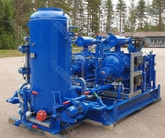 Аммиачный компрессорный агрегат холодопроизводительностью 515 кВт