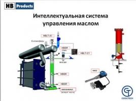 Датчики HB Products. Интеллектуальная система управления маслом