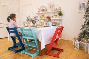 Детский растущий стул производства «Микро Фабрика»