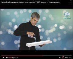 НАНО обработка светильников