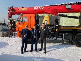 «Палфингер Сани Крэйнз» представила кран на конференции «Сибирские дороги»