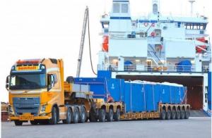 Перевозка негабаритных грузов от транспортной компании GRUNBERG