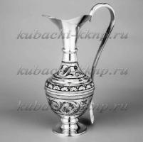 Скидки на серебряные кувшины от «Кубачинского комбината народных промыслов»