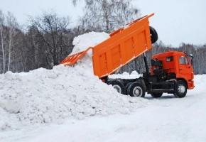 Скидки при заказе вывоза снега в компании «МУСОР-РИН»!