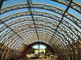 Строительство спортивного комплекса Динамо