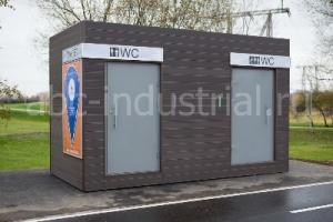 Удобные и высокотехнологичные туалетные модули «Дублин» от ABC INDUSTRIAL