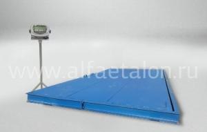 Высоконадёжные платформенные весы в ассортименте «Альфа-Эталон МВК»