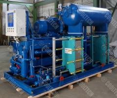 Завершенные проекты: Холодильная установка для охлаждения раствора CaCl2.